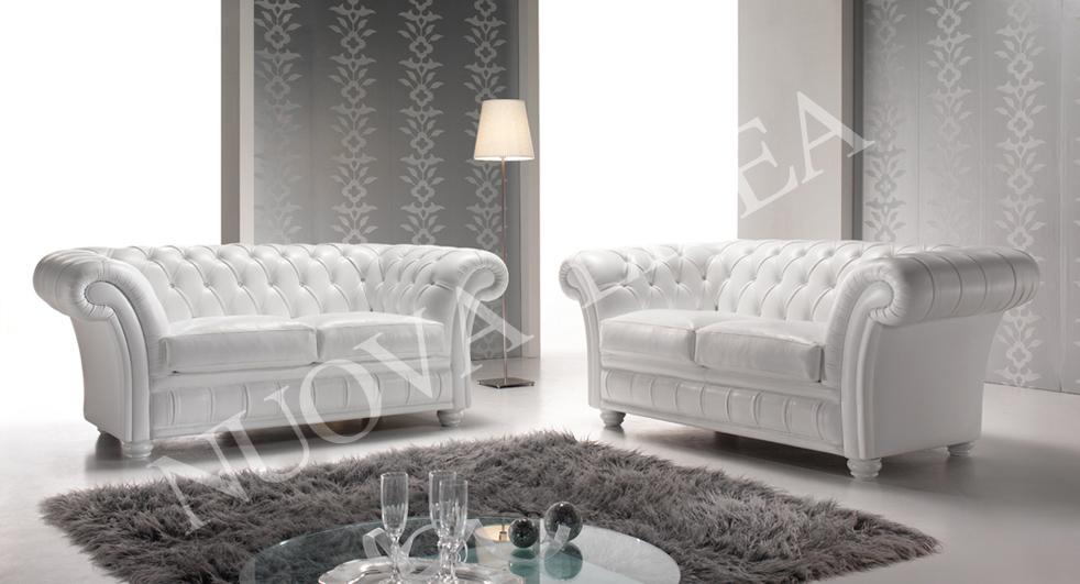 Leather Sofas, Chesterfield Couch - Nuova Linea Giovannetti