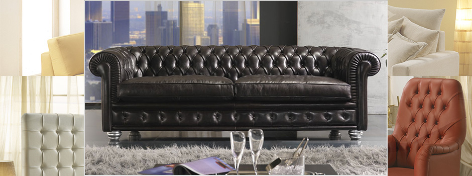 Divani Made In Italy.Made In Italy Chesterfield Sofas Leather Couch Nuova Linea