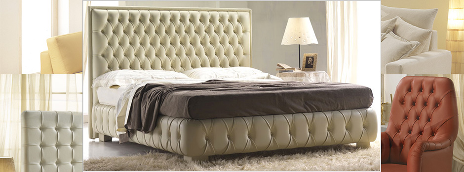 Letto Chesterfield.Made In Italy Chesterfield Sofas Leather Couch Nuova Linea